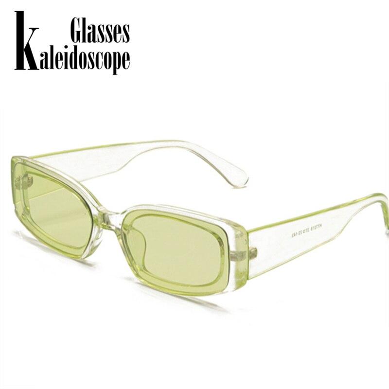 Nouveau mode Vintage lunettes de soleil femmes marque Designer rétro lunettes de soleil Rectangle lunettes de soleil femme UV400 lentille lunettes