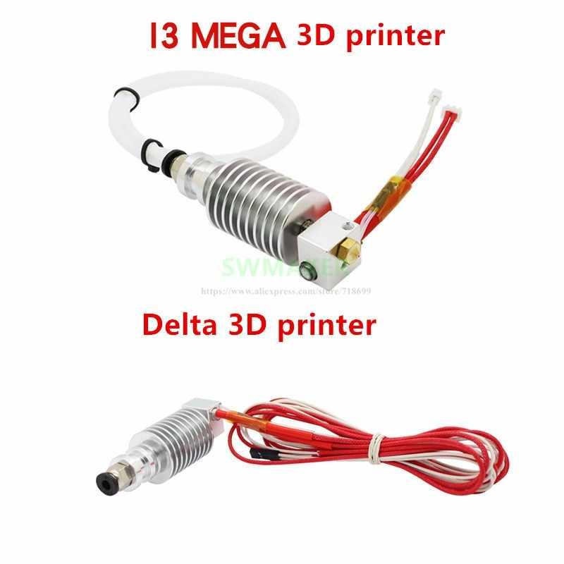 Kit Hotend actualizado de tipo recto V5 j-head para impresora 3D ANYCUBIC I3 Mega, Delta, Chiron, 4max pro, predator