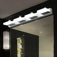 Chokecherry led mirror light modern brief stainless steel acrylic bathroom mirror cabinet lamp wall lamp cosmetic lamp
