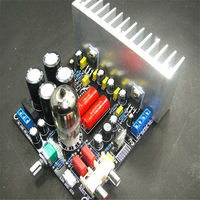 6N3 push LM1875 front gallbladder stone amplifier finished product gallstone hybrid power amplifier tube amp amplifier