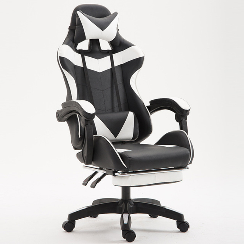 US $117 99 50% OFF|Gaming Chair Adjustable Foldable Ergonomic Design  Computer Chairs Office Furniture Durable Lift Swivel Comfortable Office  Chair-in