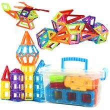 116-152 Pcs Designer Magnetic Building Blocks Model Magnetic Blocks Educational Construction 3D Toys Children Birthday Gift цена 2017
