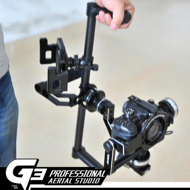 Toys & Hobbies Learned F16819 Carbon Fiber Tube 3-axle Handheld Gimbal Handle Frame Kit With Moniter Mounting Bracket For Align G3-gh G3-5d Parts & Accessories