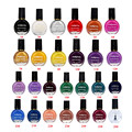 1 Pcs 26 Color Nail Polish Printing Oil 26 Solid Color Beauty UV Gel Polish For Nail Art Stencils Stamping Plates
