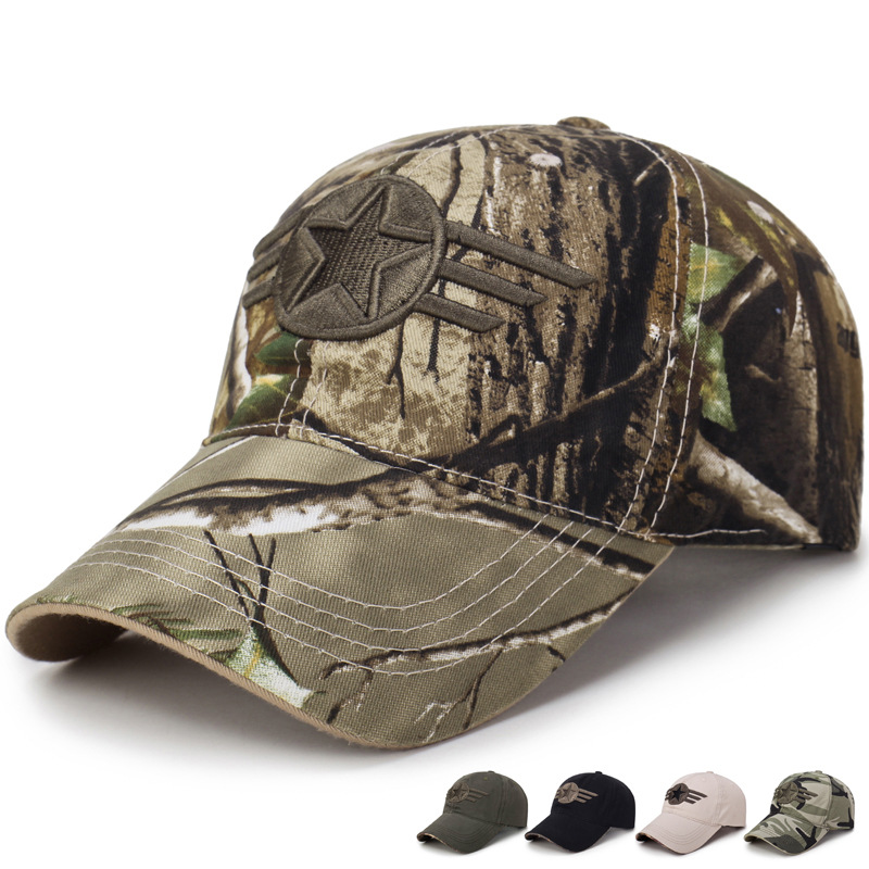 Outdoor Sports Hats For Men Caps For Woman Sun Visor Camo Tennis Top Summer Sunshade UV Protection Ponytail Golf Hats Ladies