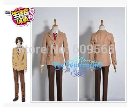 Free Shipping! Seitokai Yakuin Domo Tsuda Takatoshi Boy School Uniform Manga Amime Cosplay Costume ,Perfect Custom For you!