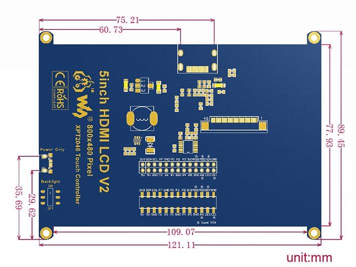 5inch-HDMI-LCD-dimension