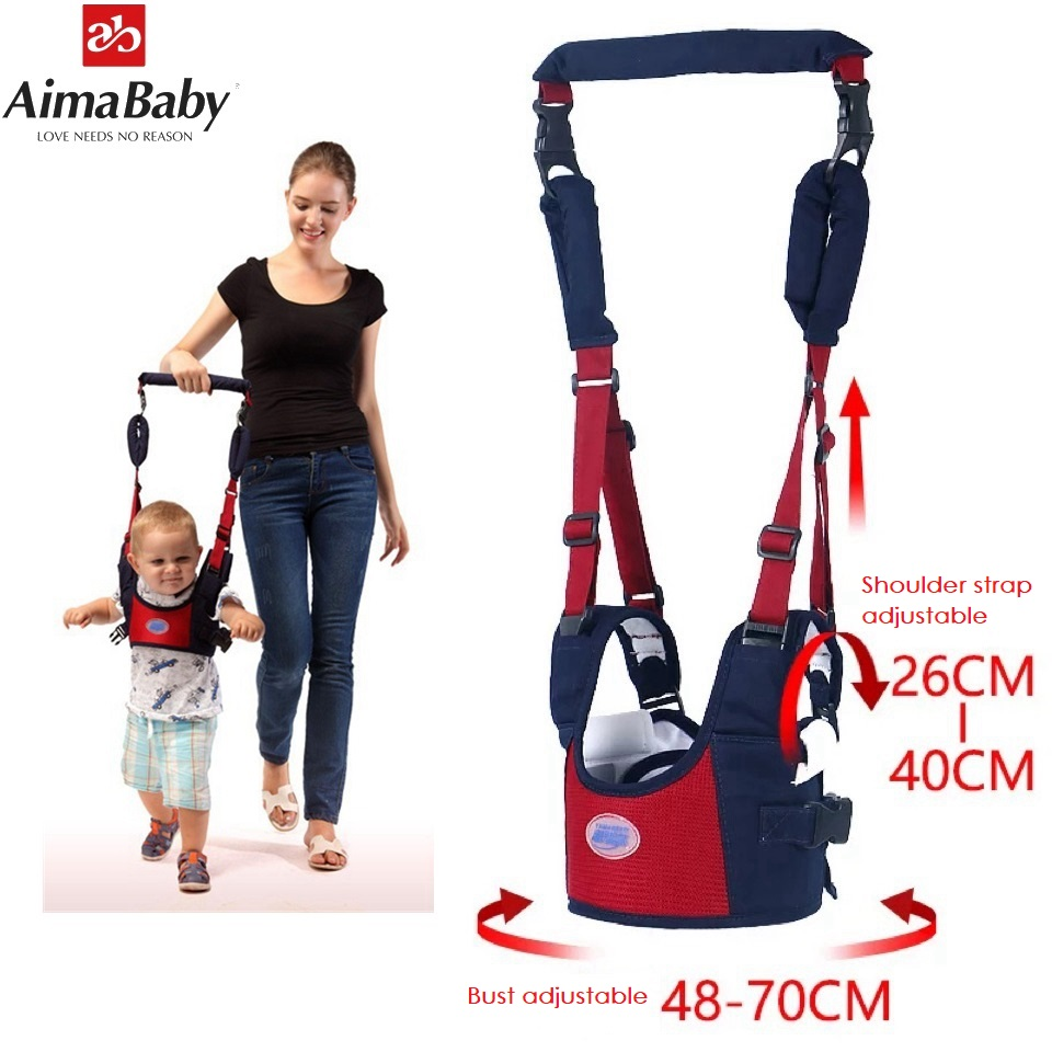 Baby bust Walker,Baby Harness Assistant Toddler Leash for Kids Learning Walking Belt Child Safety