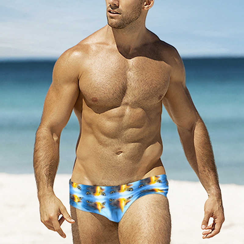 a146c87e1d ... Mens Swimming Briefs Sexy Swimwear Trunks Low Rise Bikini Summer  Swimsuit Men Swim Shorts Beachwear USA ...