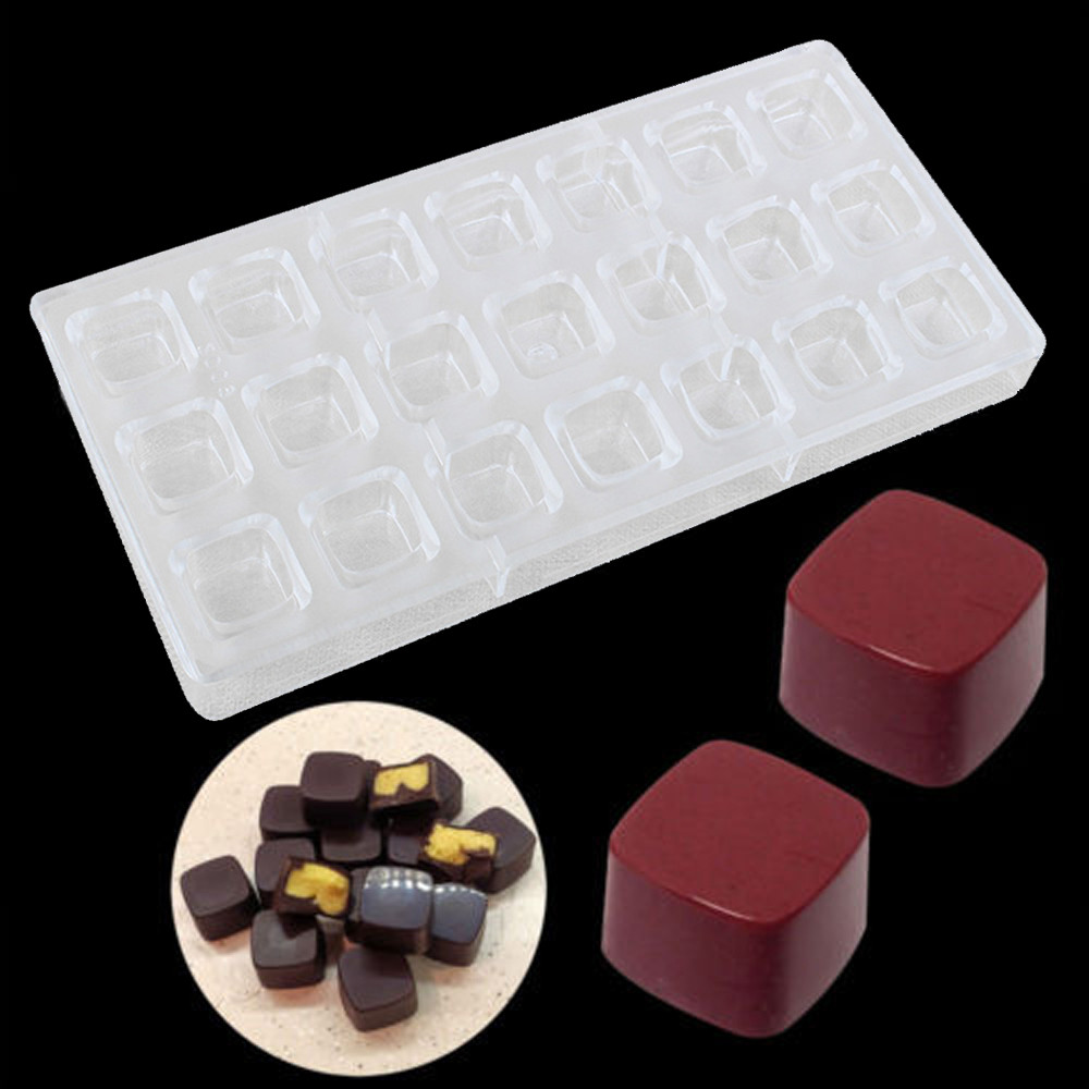 Kitchen,dining & Bar Bakeware 28 Cavities New Design Hard Polycarbonate Jelly Mold Candy Mould Chocolate Maker Confectionery,formas Para Chocolate