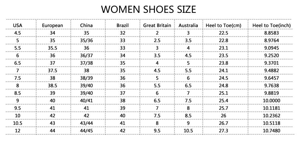 41 european shoe size to us women's
