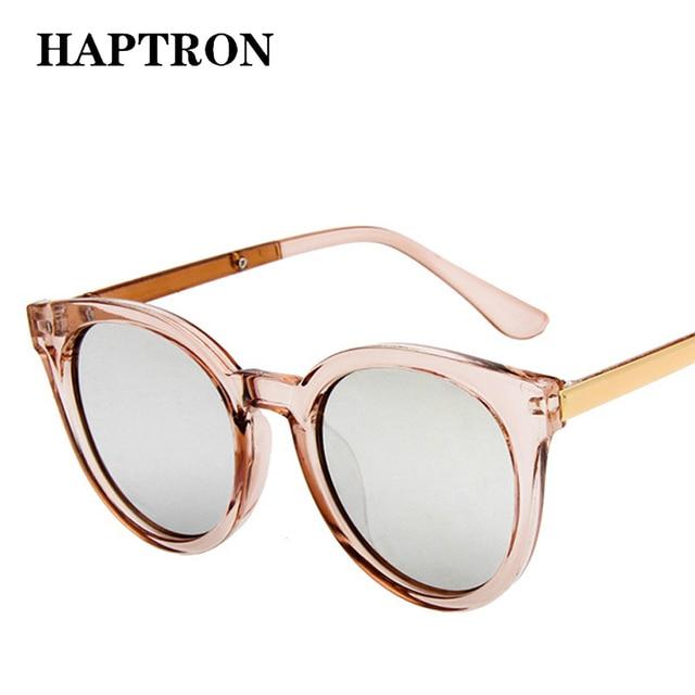 Gafas de sol de marca de lujo HAPTRON para mujer moda mujer 2018 gafas de sol de color rosa