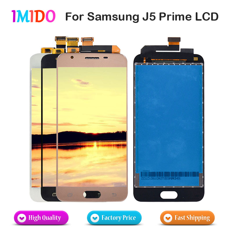 10Pcs Lot AAA Display For SAMSUNG J5 Prime LCD Touch Screen for Galaxy J5 Prime G570F