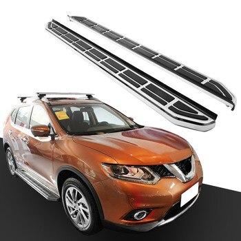 Menjalankan Papan Side Step Nerf Bar Platform Iboard untuk Nissan X-trail Rogue 2014-2017 2 PCS