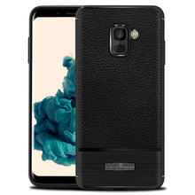 for samsung galaxy a8 2018 fitted shockproof back cover anti-skid anti-fingerprint silicone soft black tpu phone case for samsung galaxy a7 2018 fitted shockproof back cover anti skid anti fingerprint silicone soft black tpu phone case