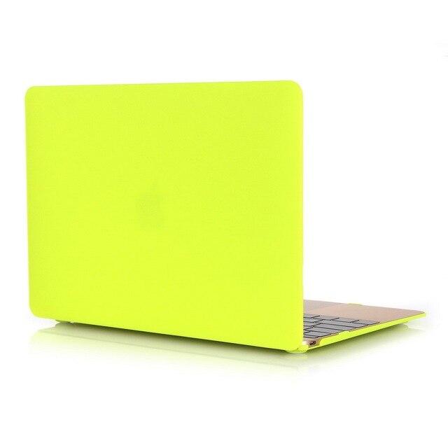 Crystal housse matte case for apple macbook air pro for Housse macbook air 11 pouces