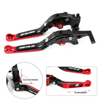 Motorcycle CNC Folding Extending Handlebar Brake Clutch Levers For Yamaha YZF R3 YZF R3 2014 2015