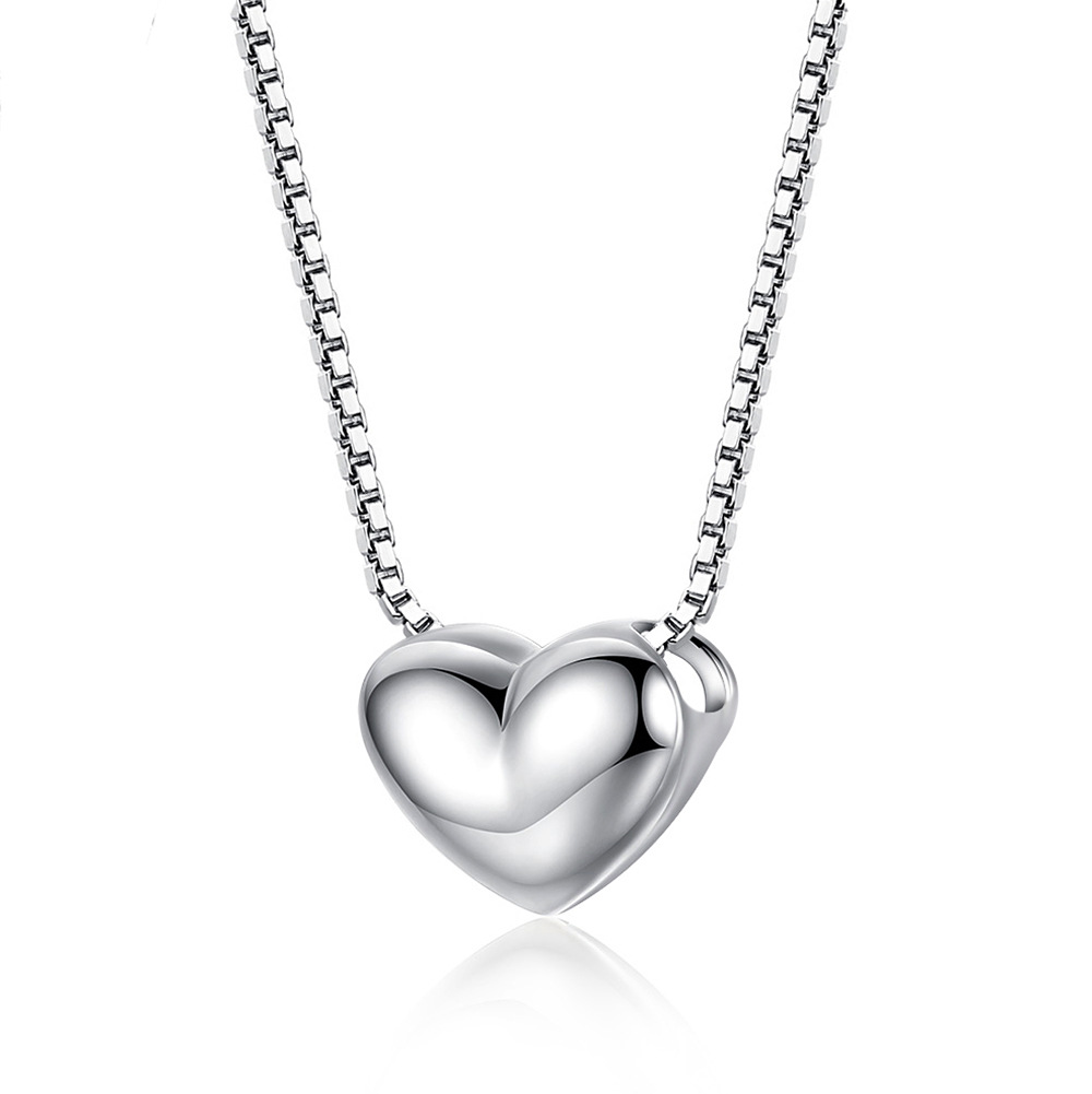 New Infiniti stylish minimalist heart pendant Crystal from Swarovski Maxi Necklace Collier Wholesale Fashion Jewelry Name Bead