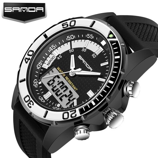 888e704a868a Reloj deportivo militar para hombre