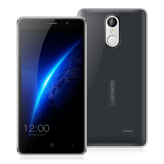 Original LEAGOO M5 5.0'' HD Android 6.0 2GB+16GB MTK6580 Quad Core Dual SIM Metal Frame 3G WCDMA GPS Fingerprint ID Mobile Phone