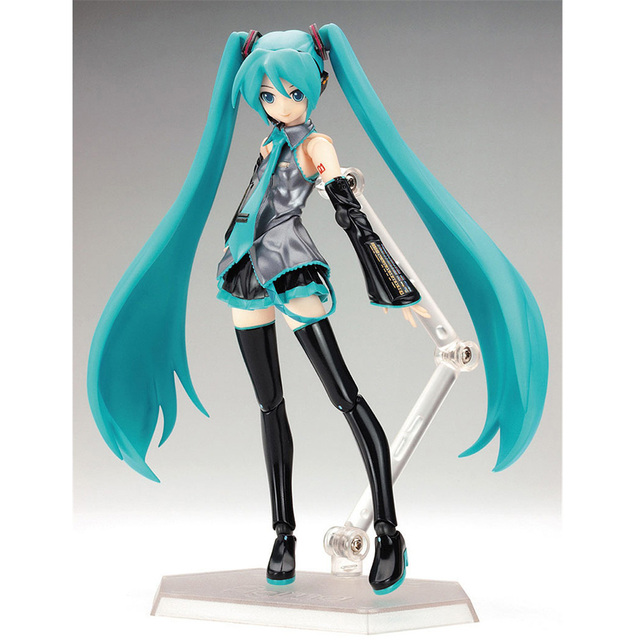 FMRXK 15cm Movable Anime Action Figure Hatsune Miku Model Toy Doll Toy PVC Figma 014 Heroines Collectible 1