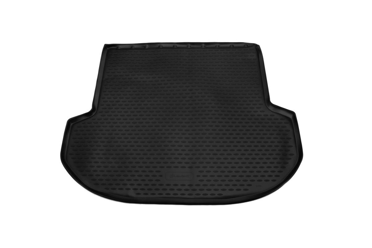 Mat trunk suitable for For HYUNDAI Santa Fe, 2017-> 5 seats, внед... 1 PCs (polyurethane) mat trunk fit for for volkswagen touareg 2018 внед 1 pcs polyurethane