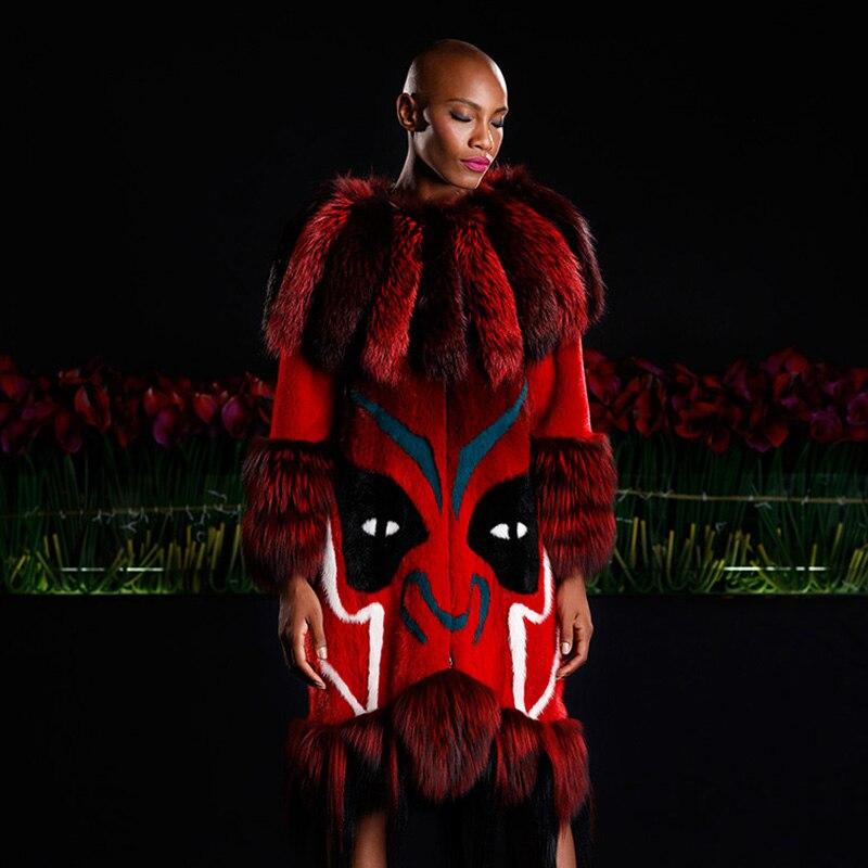 LVCHI 2019 najbolje prodajani top modni modni plašči iz pravega - Ženska oblačila - Fotografija 2