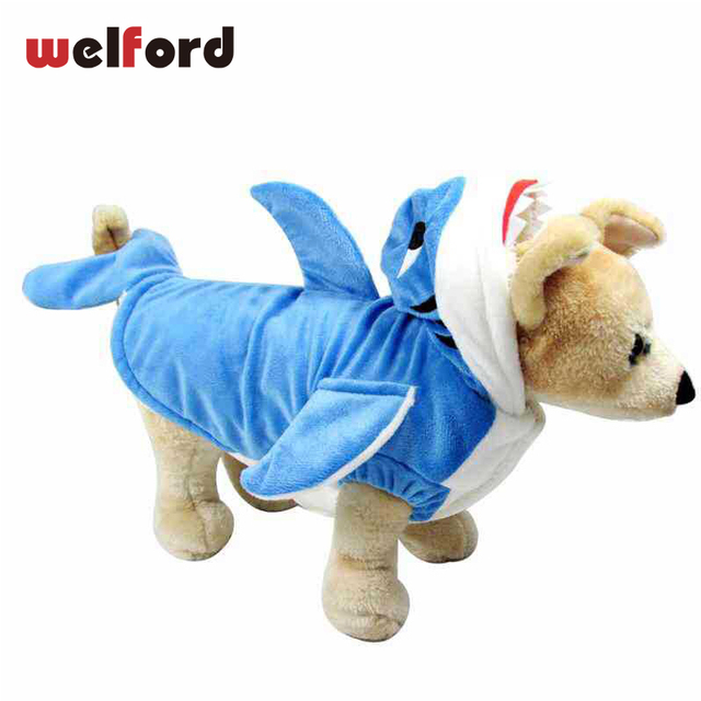 US $10 36 40% OFF|Pet Jumpsuit For Dog Clothes Winter Warm Christmas  Halloween shark Transfiguration Jacket Coat Supreme Clothing Puppy Medium  Dog-in