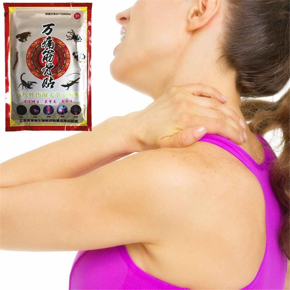Miyueleni яда паука ортопедические болеутоляющее позвоночника медицинского пластыря мышц спины массаж эфирное масло штукатурки