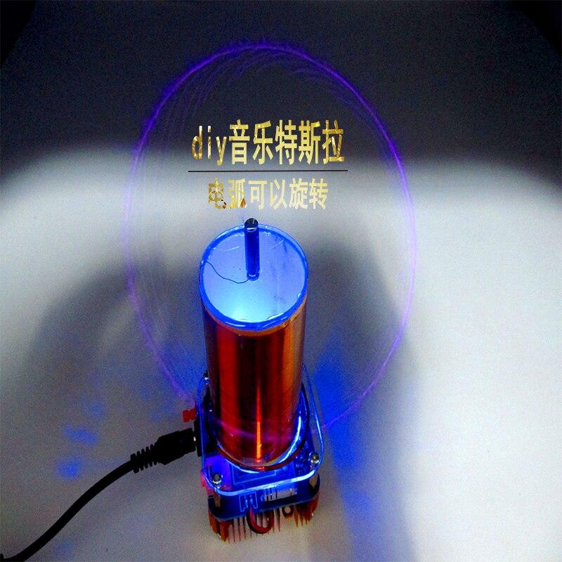 Music Tesla Coil Diy Suite ZVS Technology Physics Electronics Manufacture Small Tesla Parts