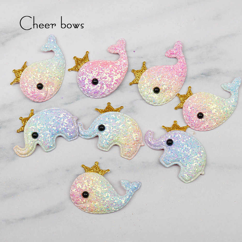 3bca59e4ab Detail Feedback Questions about Cheer Bows Shiny Glitter Padded ...