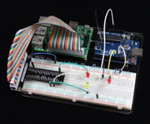 Raspberry pi 3 +  UNO Acrylic Experimental Platform