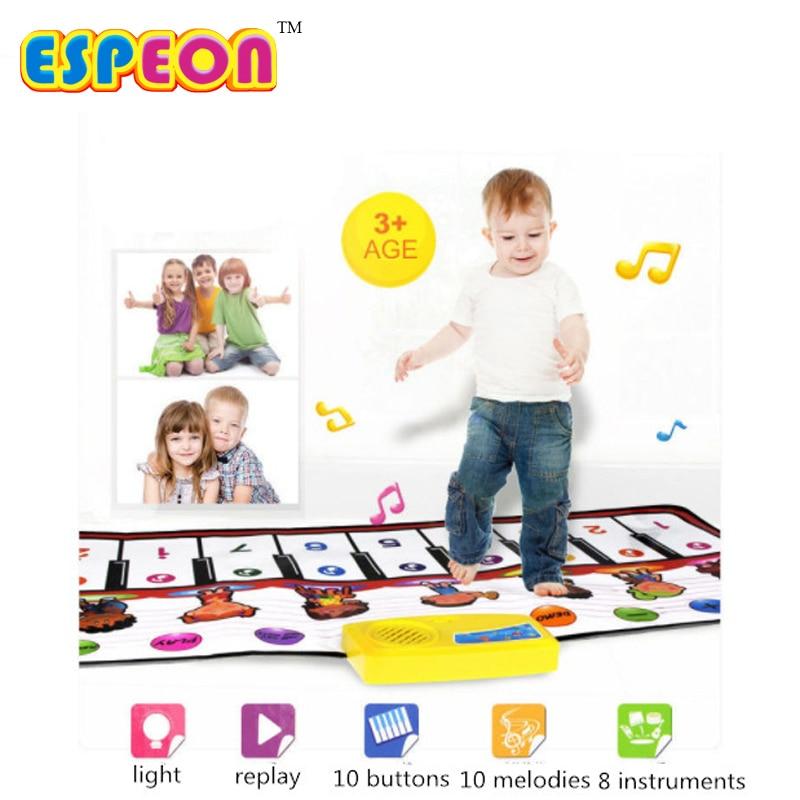 """""""Espeon"""" 100x40cm kūdikis Žaisti kilimėlį kilimėlį kūdikių žaislai Dideli pianino kilimėliai Vaikams vystantis kilimėlį Vaikiški žaislai Kūdikių kilimų žiedai"""