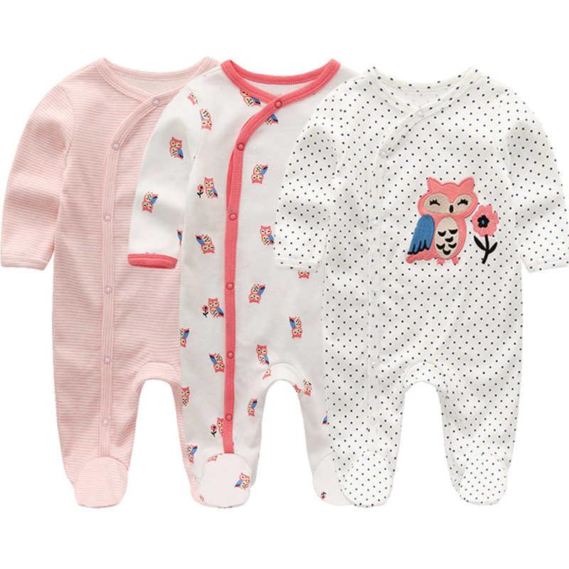 קיץ תינוק Rompers אביב יילוד תינוק בגדים בנים בנות ארוך שרוול ropa bebe סרבל תינוק בגדי ילד ילדים תלבושות