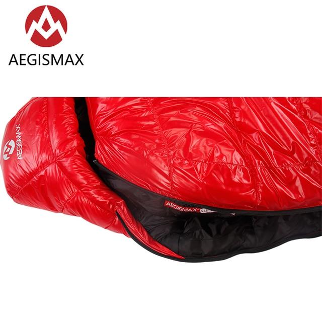 Aegismax C500 C700 90% White Duck Down Sleeping Bag 650FP 5