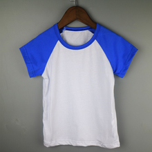 kid short sleeve raglan shirt child t-shirt wholesale raglan t-shirts children boutique shirts retail t-shirt royal blue shirts