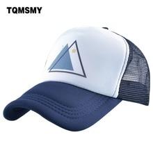 TQMSMY Summer Sun and Moon Design Baseball Cap Men Snapback Trucker Hat