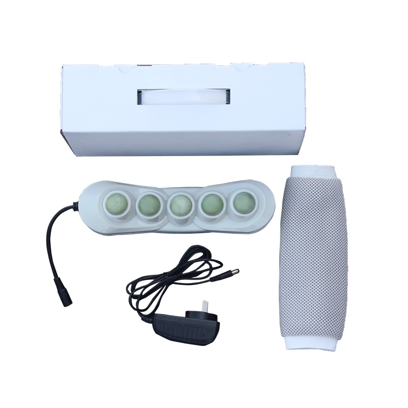 POP RELAX health 5 balls Natural Jade products portable heater projector PR-P05 Far infrared Heating Therapy Relax Massage pop relax health products electric prostate massage for men handhend infrared heating therapy device 3 balls jade stone massager