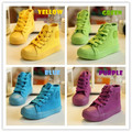 2017 nova moda crianças lona shoes doces coloridos tênis de lona bebê das meninas do menino sports shoes casual shoes tamanho 25 ~ 37