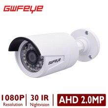 GWFEYE AHD 1.0MP 720 P/2.0MP SONY IMX323 1080 P Открытый Водонепроницаемый Пуля Видеонаблюдения CCTV Камеры С 36 ШТ. ИК-СВЕТОДИОДОВ