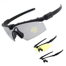3.0 Polarized Tactical Glasses Military Goggles Army Sunglasses With 4 Lens Original Box Men Shooting Goggles Sport Eyewear
