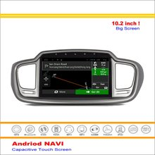 Car Android GPS NAV Navi Navigation System For Kia Sorento 2015~2016 – Radio Stereo Audio Video Multimedia ( No DVD Player )