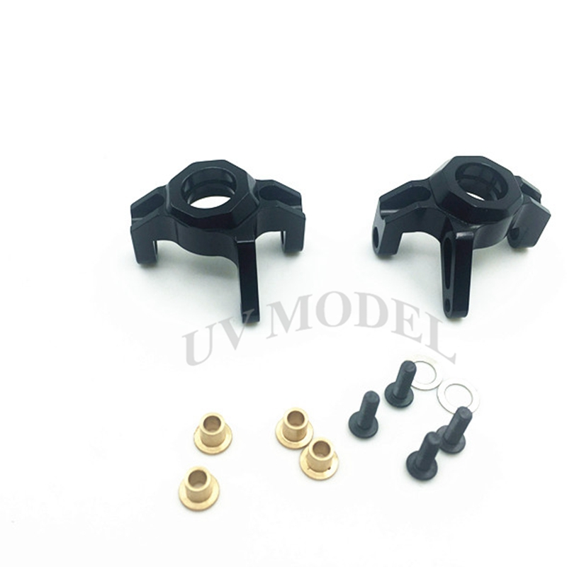 Black Silver Wraith Knuckles Alloy Steering Front Knuckle For Wraith Axial 1/10 Rc Car