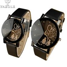 2016 lovers Women Watches Men Leisure and fashion Wristwatch Female Male Clock WristWatches Ladies Quartz-watch Relogio Feminino