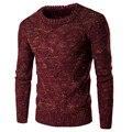 Homens Pullover Novo Limitado O-pescoço Pullovers Outono Inverno 2016 Homens Casuais Com Grossa Camisola Quente
