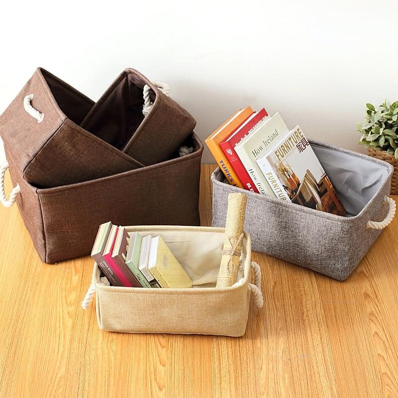 Stilul Zakka păstrează calmul și duceți-vă pe coșul de stocare - Organizarea și depozitarea în casă
