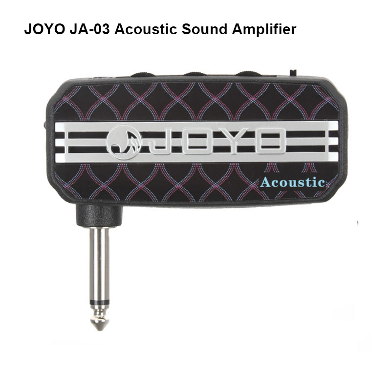 все цены на Joyo JA-03 Acoustic Sound Mini Guitar Amp Pocket Amplifier Micro Headphone speaker instruments guitarra 3W Amp free shipping онлайн