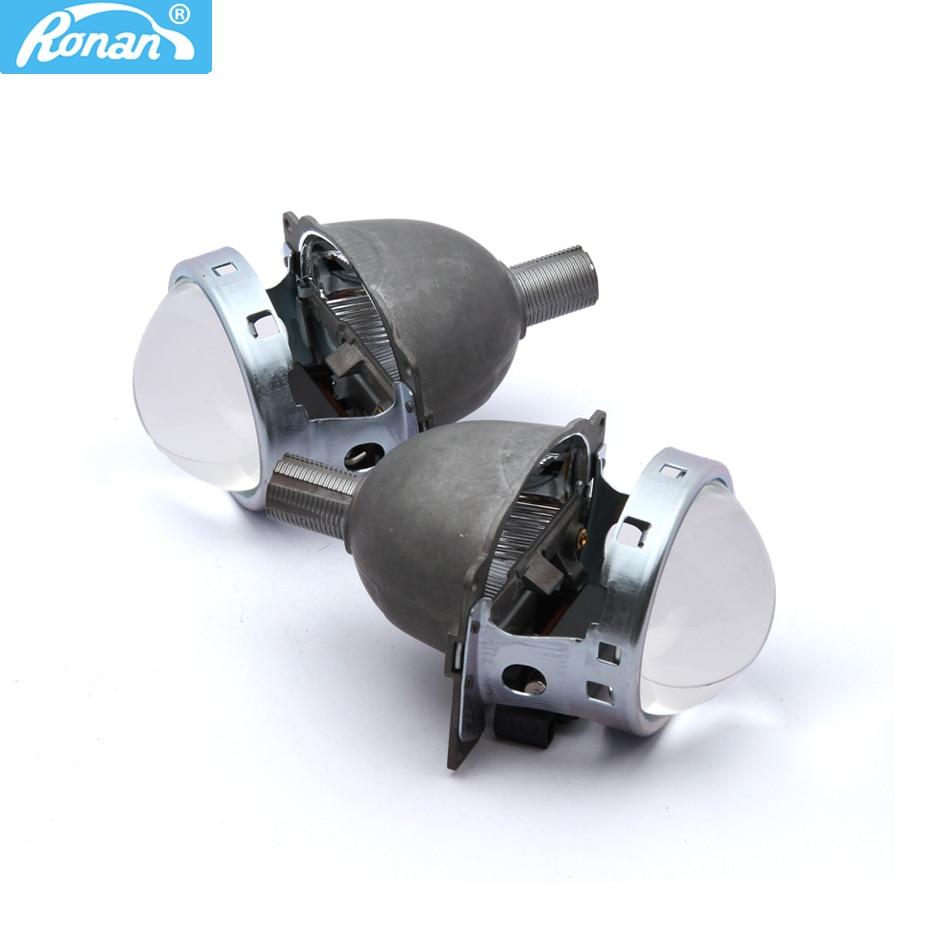 RONAN 2PCS 3.0'' Bi-xenon HID Projector Lens for Koito Q5 LHD Universal Fast Install H1 H4 H7 H11 9005 9006 Free Shipping ���������� koito