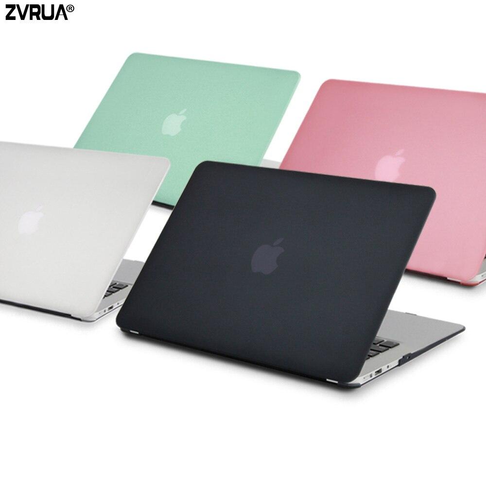 ZVRUA HEIßER Verkauf laptop Fall Für Apple macbook Air Pro Retina 11 12 13 15 Für Mac buch 13,3 zoll mit Touch Bar