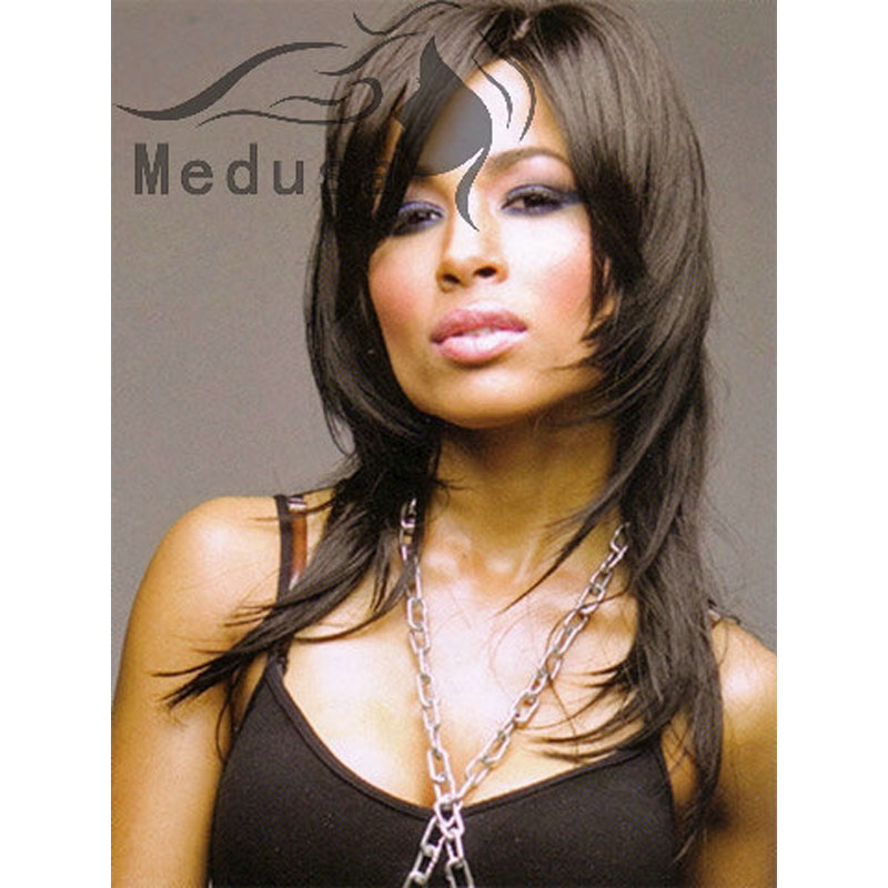 Medusa Hair Products Rock Style Long Layered Straight Haircuts Afro